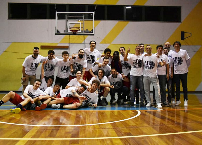I Bad Boys Fabriano promossi in serie D di basket!